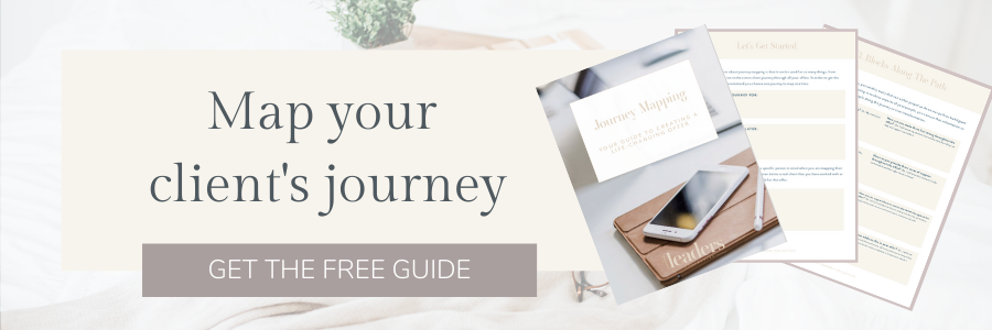 Map Your Client's Journey
